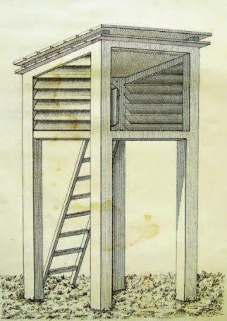 Метеорологическая будка своими руками чертежи
