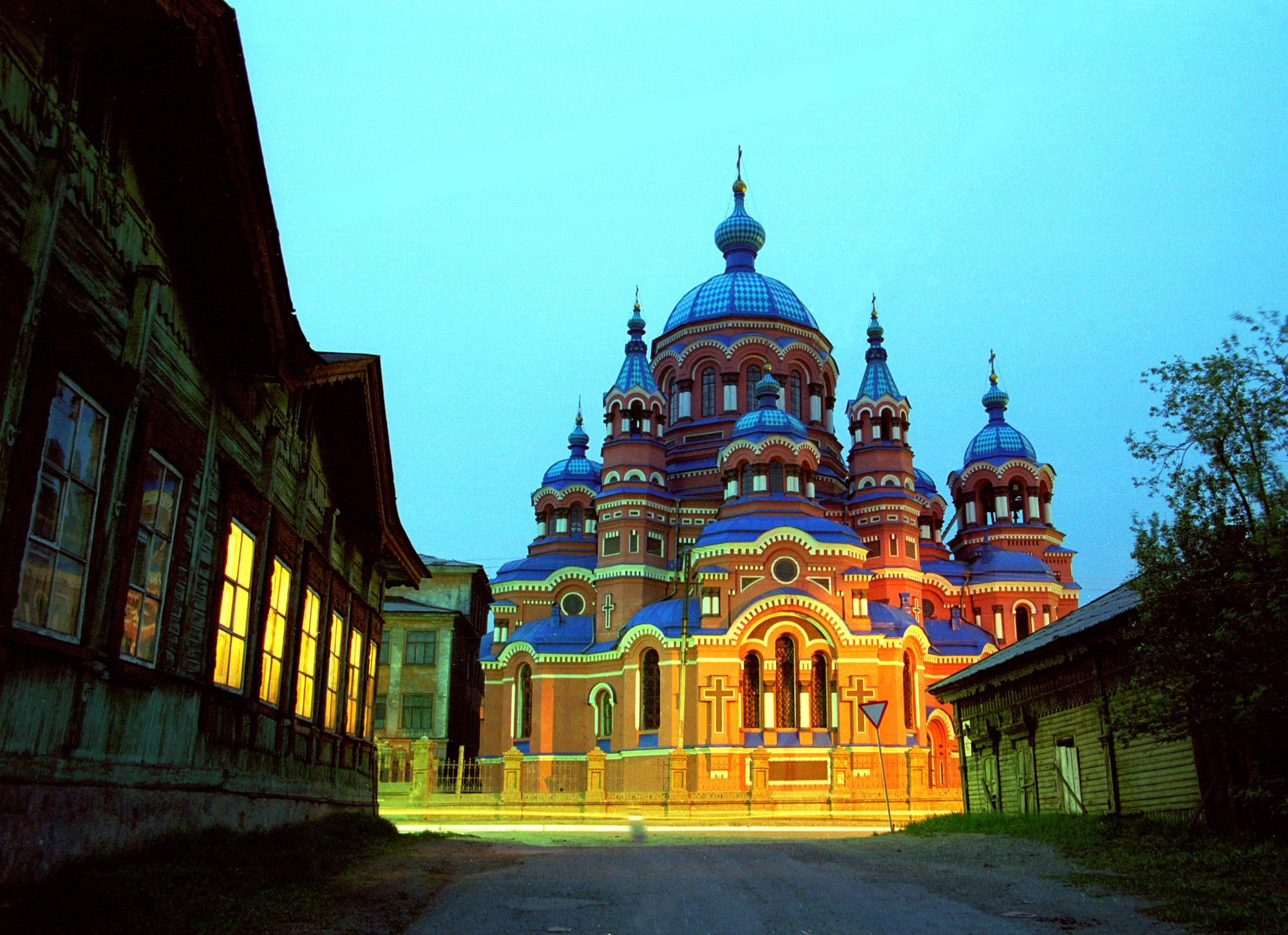 иркутск казанская церковь фото