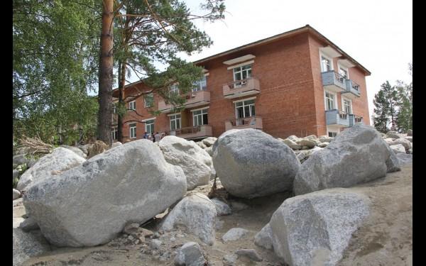 Наводнение в поселке Аршан 28