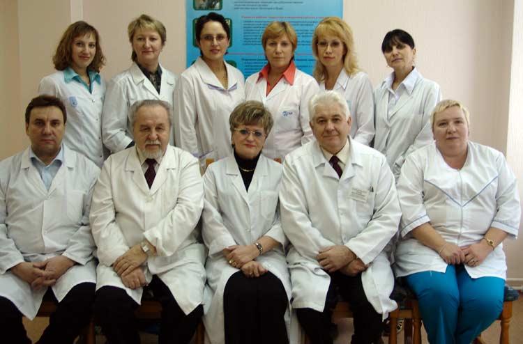 Коллектив кафедры факультетской терапии с курсами эндокринологии, клинической фармакологии, профессиональных болезней