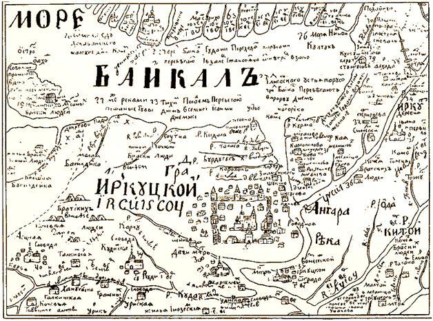 Карты и схемы Байкала