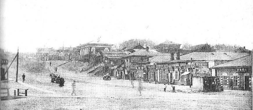 Глазковское предместье, 1913 год. Улица Кругобайкальская