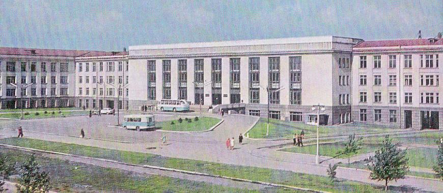 1969. Завершено строительство учебного корпуса Иркутского политехнического института