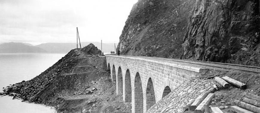 Транссибирская магистраль. Участок Кругобайкальской линии. Начало ХХ века
