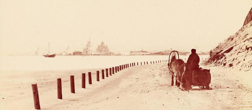 На въезде в Иркутск. 1894-1896