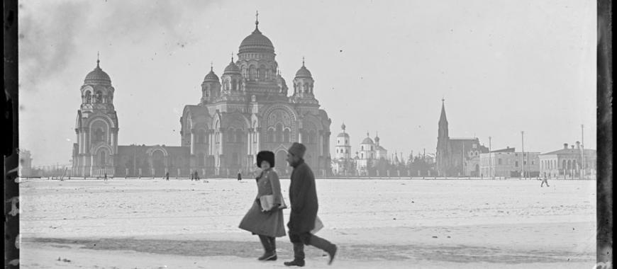 Иркутск, Тихвинская площадь. Март 1919