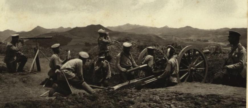 Бой на Далинском перевале 14 июля 1904 года