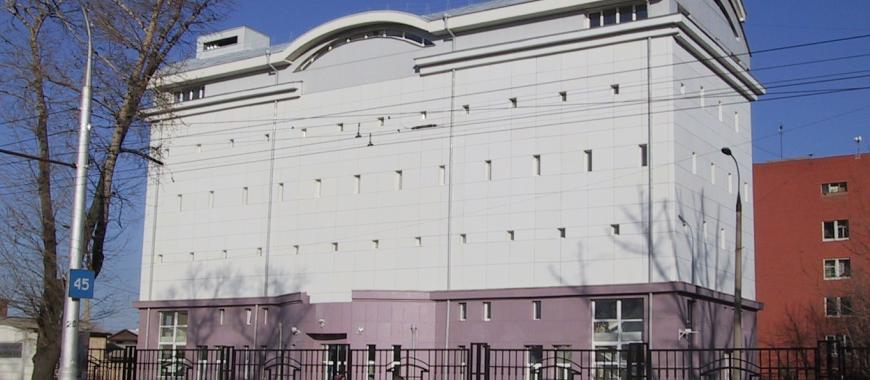 Здание Государственного архива Иркутской области