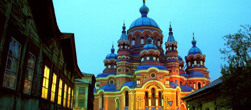 Иркутск. Богородице-Иркутская церковь