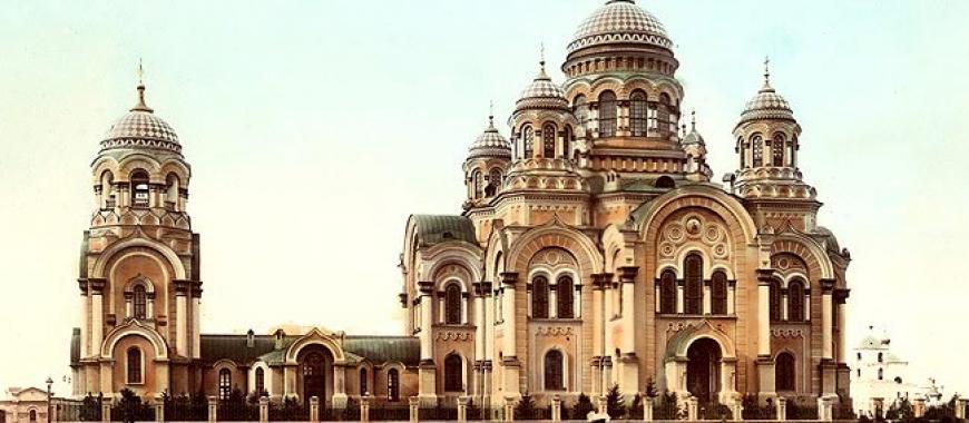 Кафедральный собор Казанской иконы Божией Матери. Иркутск