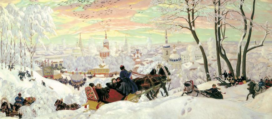 1954. Исполком принял решение сделать праздник «Проводы русской зимы» ежегодным