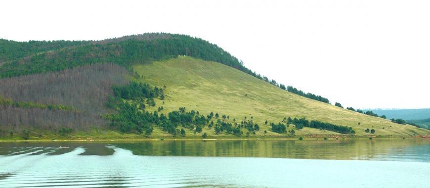 Село Новая Уда. Гора Кит-Кай, где находится беседка Сталина