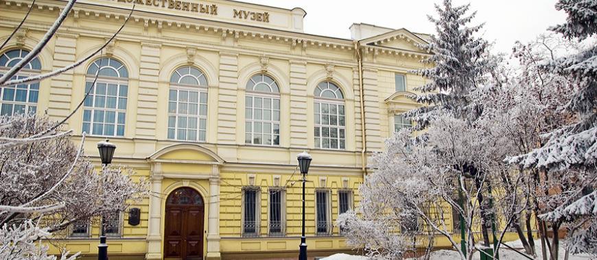 Дом № 5 по ул. Ленина, где до 1975 работал Восточно-Сибирский филиал АН СССР