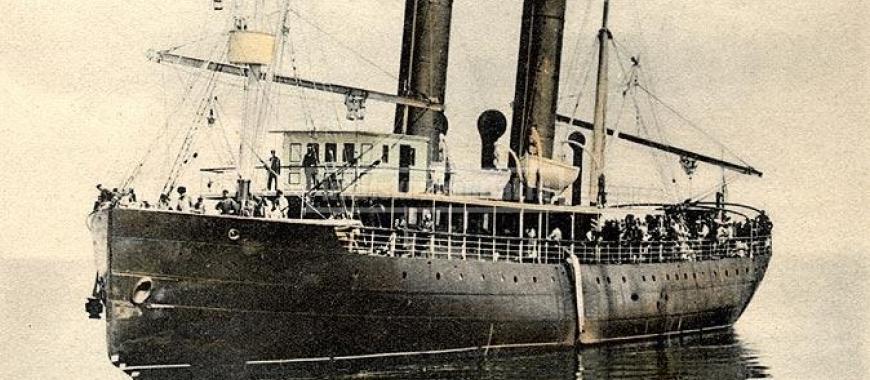 Ледокол «Ангара». До 1917