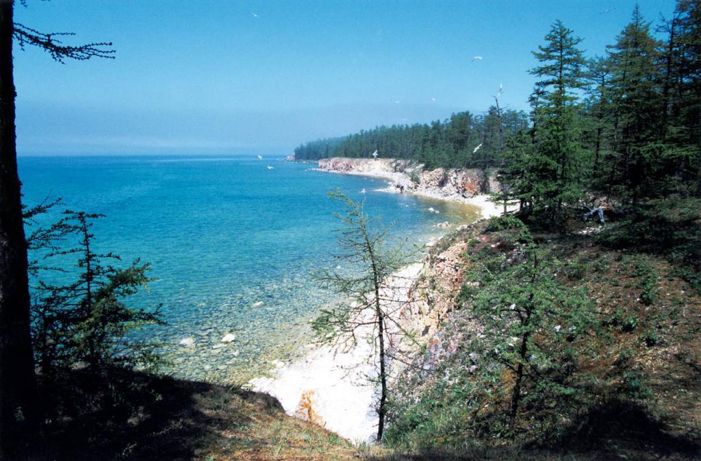 Поросшие лиственничными лесами Ушканьи острова находятся под воздействием влажного морского климата открытого Байкала. Влажность летом составляет 90-97 %. Осадков выпадает около 310 мм.