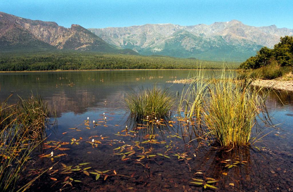 Живописное лагунное озеро на мысе Малый Солонцовый - одно из крупнейших (длина 2 километра) на берегах Байкала. От моря отделено узким галечниково-песчаным валом.