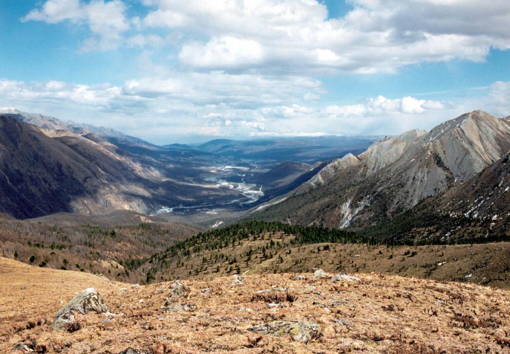 Мондинская котловина (Тункинское межгорное понижение) лежит на высоте 1100-1200 м. над ур. м.