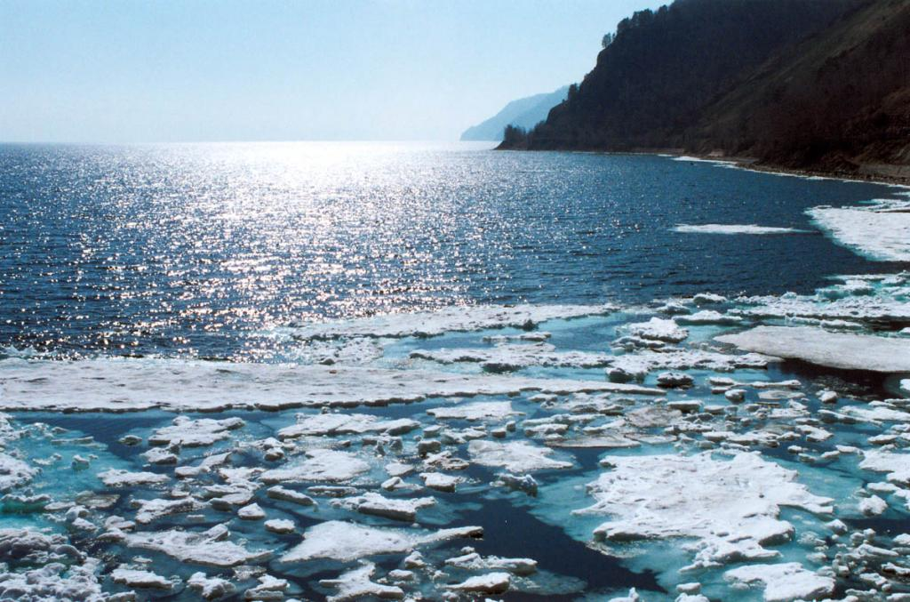 Весна на Южном Байкале. Начало мая.