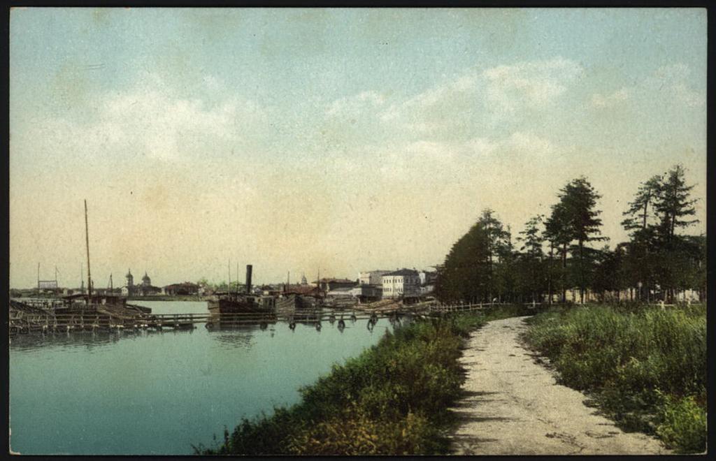 Набережная реки Ангары.
