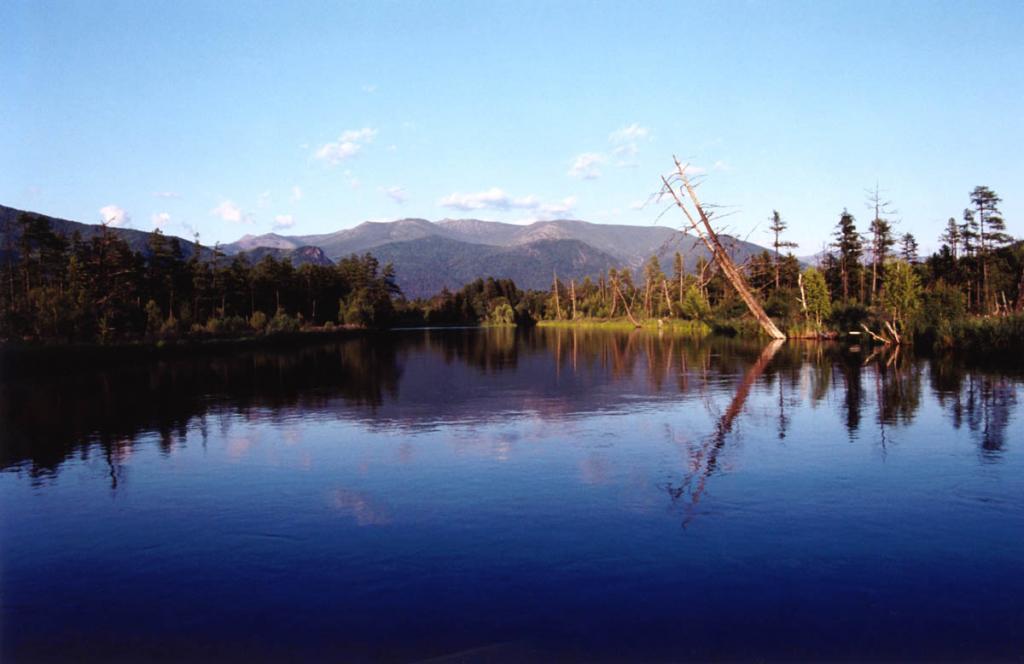 Самая короткая река северо-восточного побережья, Фролиха, берущая начало из одноименного озера, перед впадением в Байкал меняет свой горный нрав. Из звонкой и порожистой она превращается в тихую и спокойную.