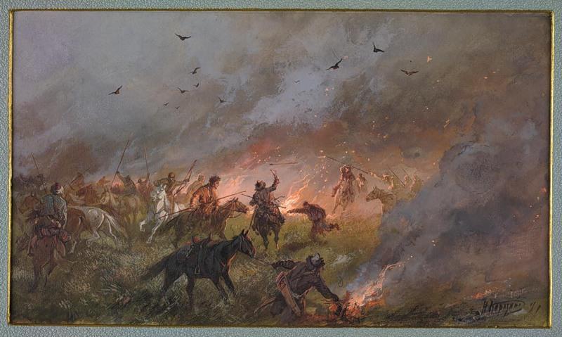 «Пугачевщина в Сибири. Поражение под Троицком 21-го мая 1774 г»