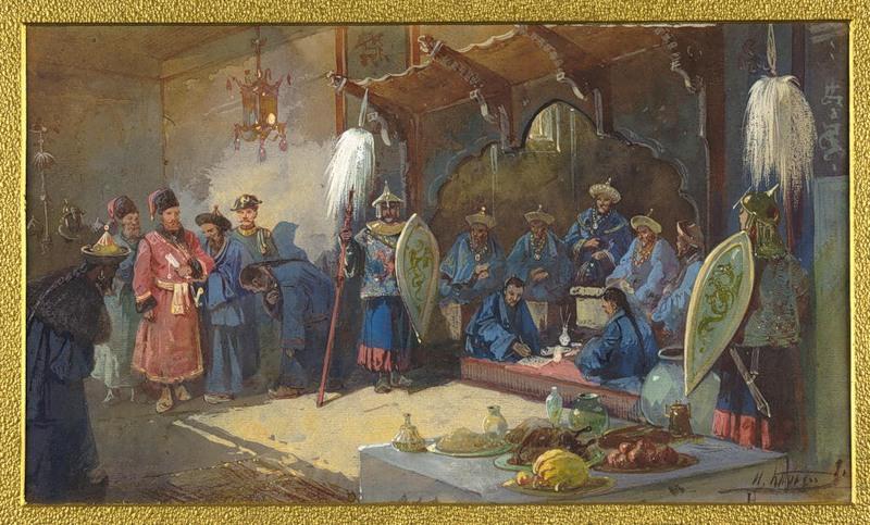 «Разведки сотника Волошенина в Семиречьи и Илийской долине в 1771 году.»