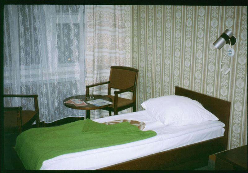 Номер гостиницы в Иркутске.