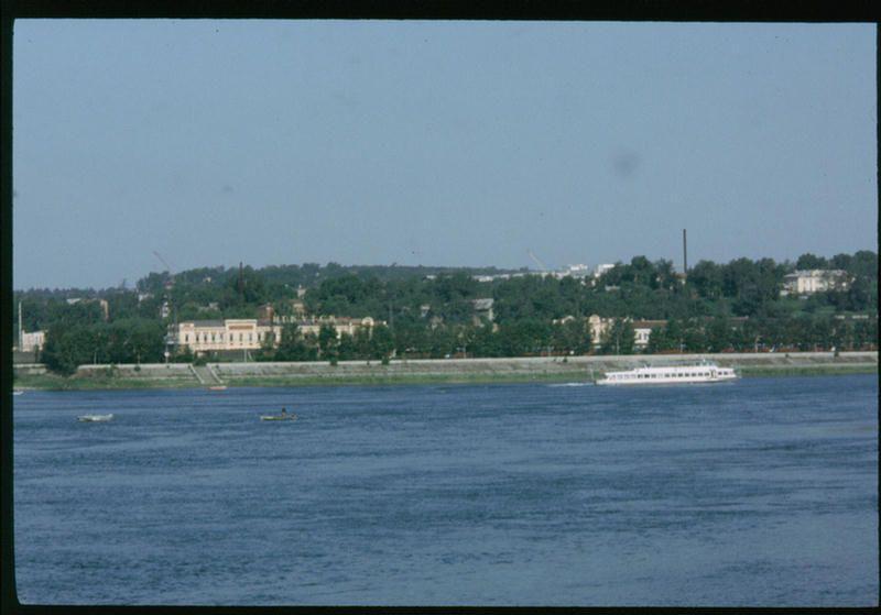 Река Ангара в Иркутске.