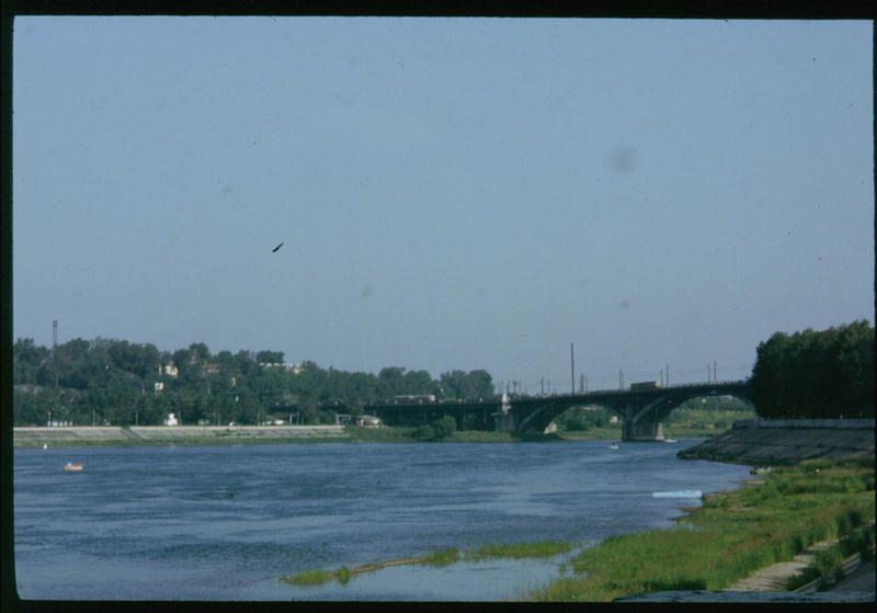 Ангарский мост в Иркутске