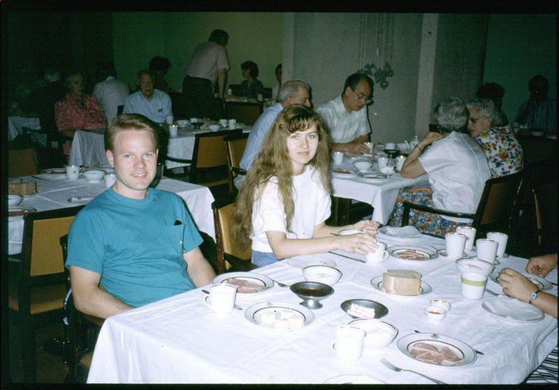 Гостиничный ресторан в Иркутске