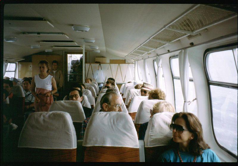 Оседлав подводные крылья на Байкале