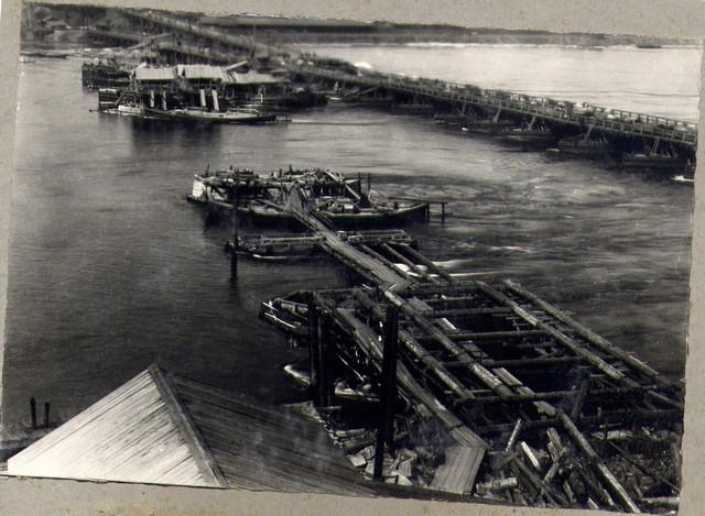 Общий вид постройки после передачи Мостотресту. 8 сентября 1934г.