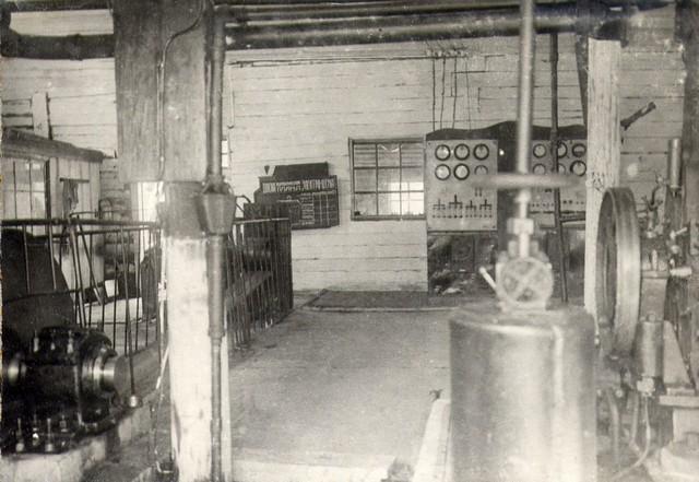 В силовой станции. Август 1935г.