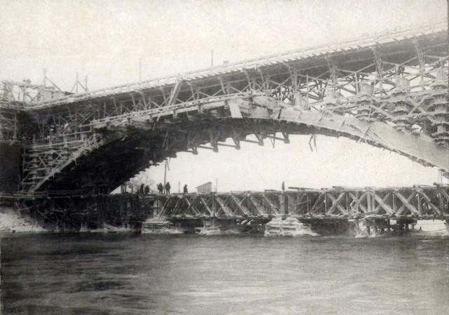Пролет №4 после уборки кружал. Декабрь 1935г.