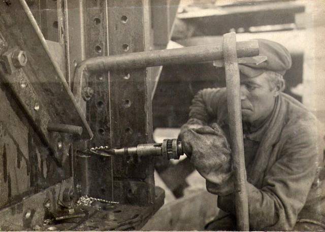Расс… ка элементов ферм для постановки связей. Октябрь 1936г.