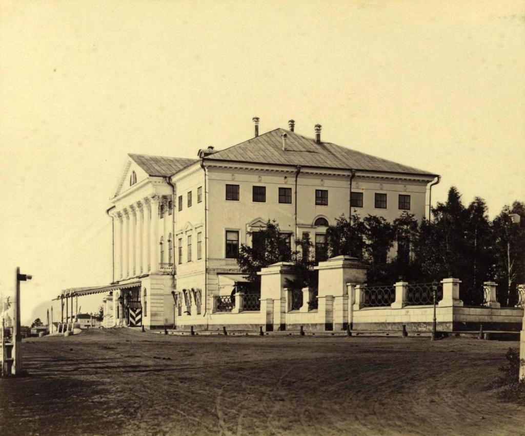 Белый дом генерал-губернатора Иркутской губернии