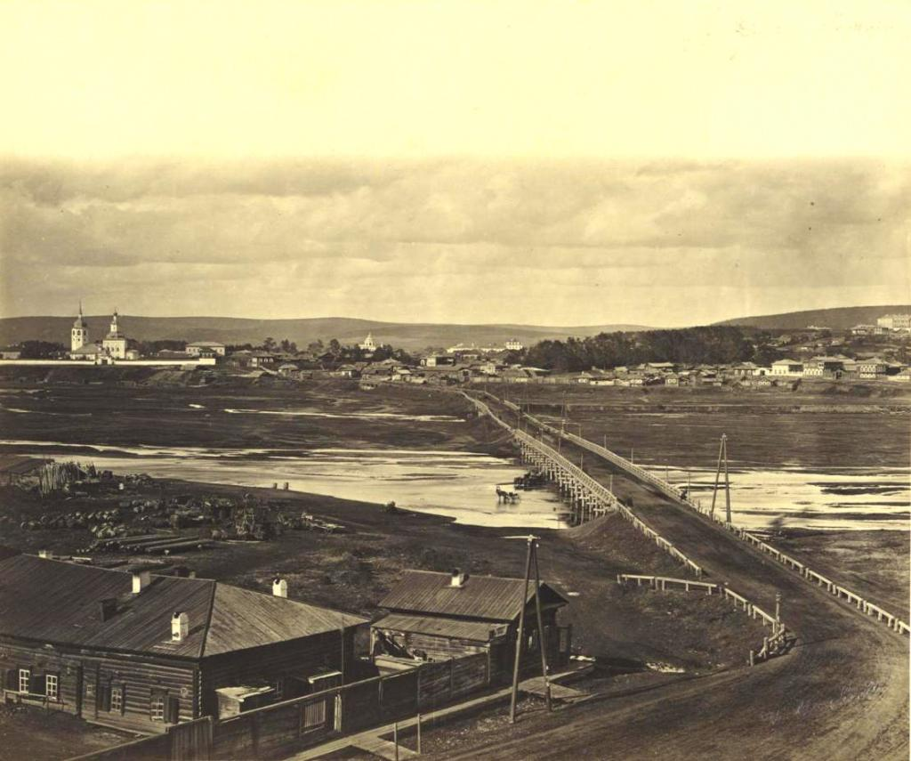 Знаменский мост через Ушаковку