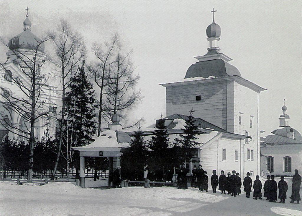Тихвинская церковь Вознесенского монастыря — старейшая церковь Иркутска