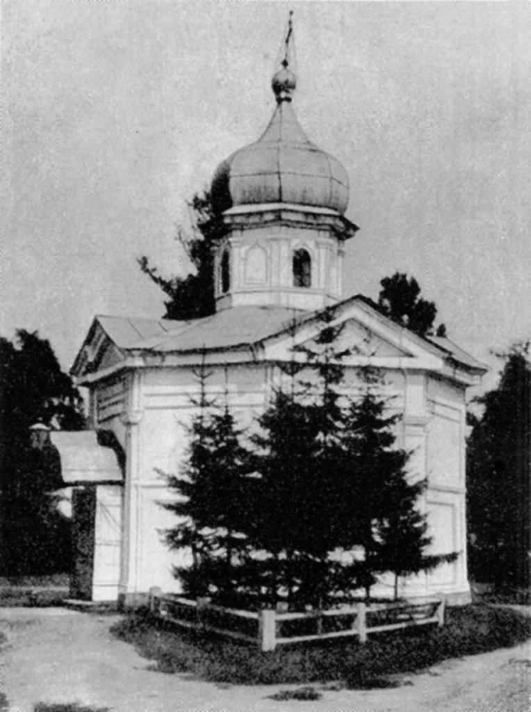 Часовня над могилой преподобного Синесия в Вознесенском монастыре