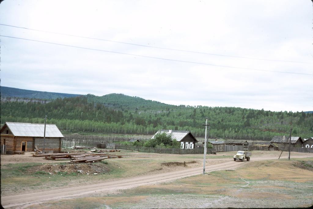 Восточная Сибирь. В 130 км к востоку от Читы