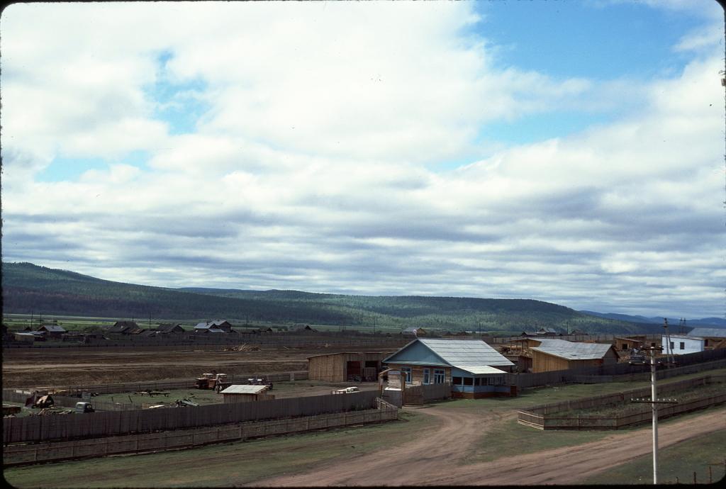 Восточная Сибирь. В 120 км к востоку от Читы