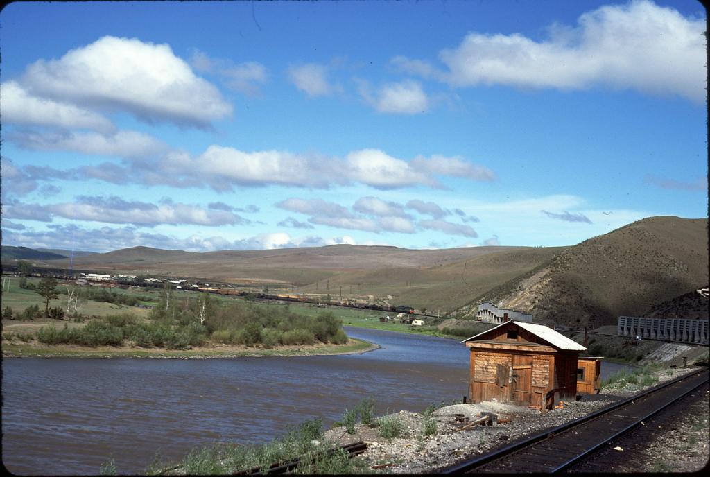 Восточная Сибирь. В 110 км к востоку от Читы