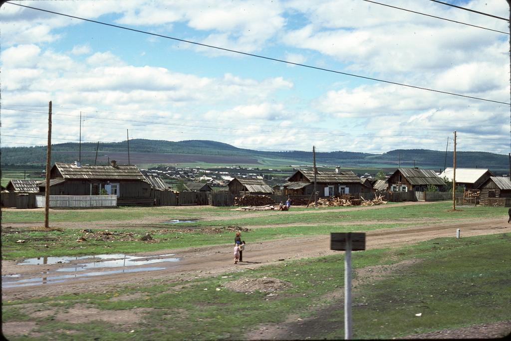 Восточная Сибирь. Деревня к востоку от Читы