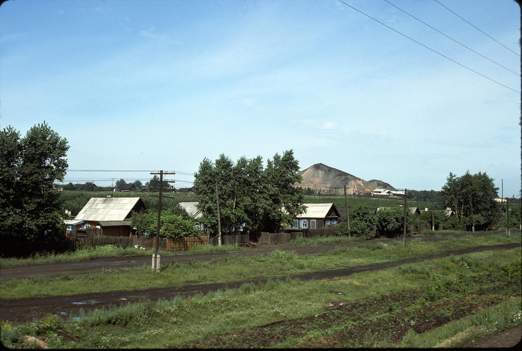 Восточная Сибирь. Поселок возле Ангарска
