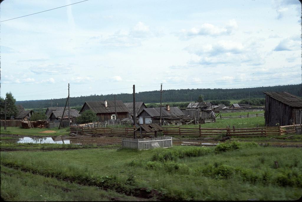 Деревня вблизи Нижнеудинска