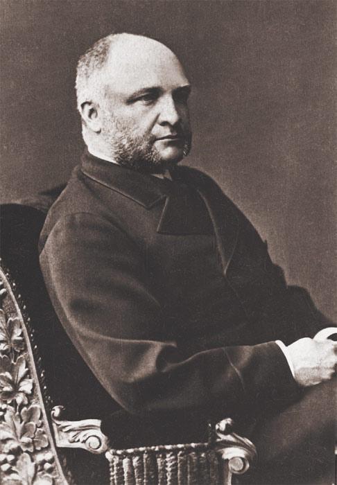 Камергер царского двора, меценат П. А. Сиверс