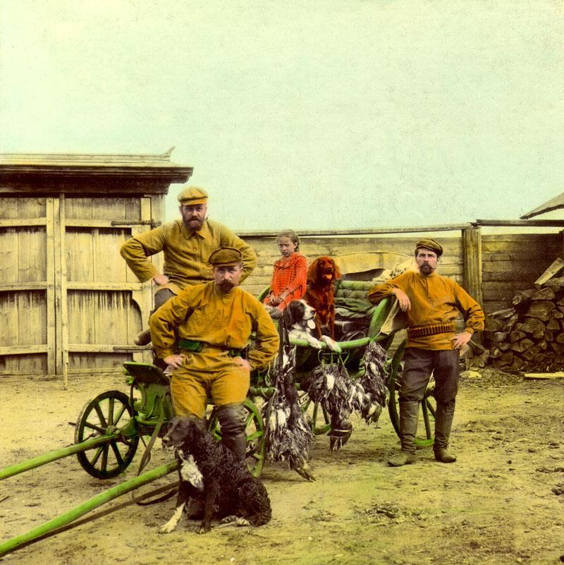 Возвращение с охоты. 30 июля 1907 г.
