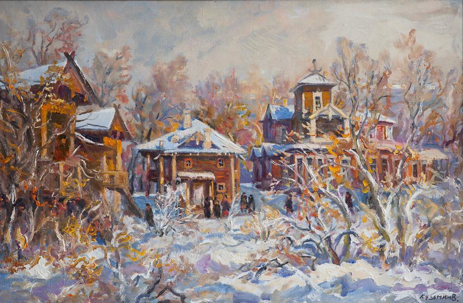 Усадьба Сукачева В. П. 2009, х. м., 66х99