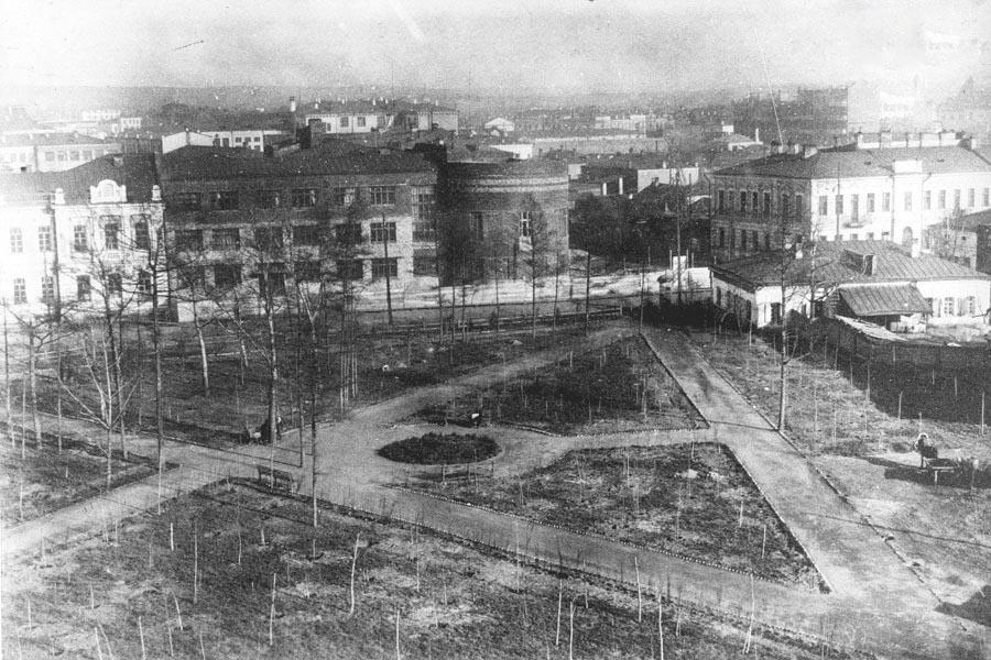 Планировка сквера на месте церкви. Из архива Анатолия Магаза