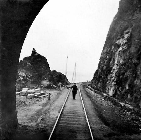 Кругобайкальская железная дорога. 1903 г.